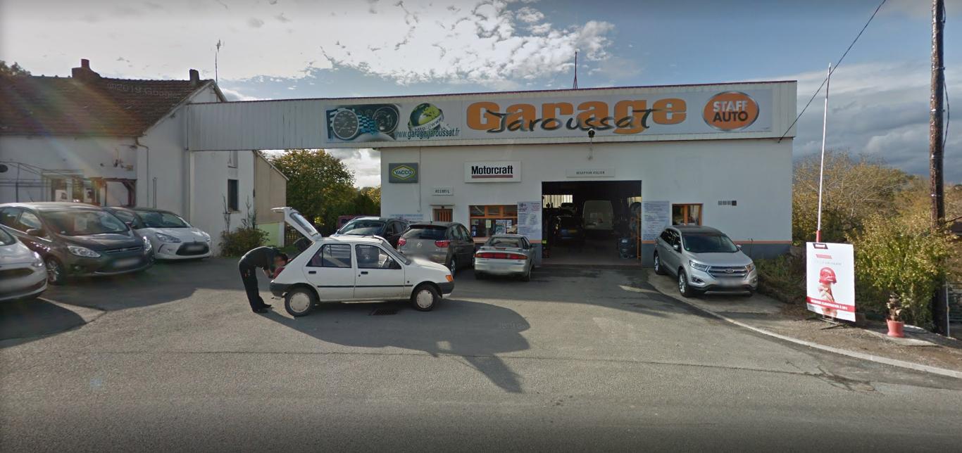 GARAGE JAROUSSAT - Vente de véhicules neufs et occasions récentes à SAINT GILLES (36)